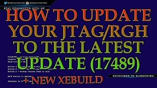 getlinkyoutube.com-How To Update Your JTAG/RGH To The Latest Update (17489) | New XeBuild | +Download