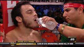getlinkyoutube.com-Julio Cesar Chavez Jr vs Andy Lee 2012 06 16