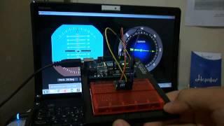 getlinkyoutube.com-Artificial Horizon and Compass Using Arduino-Processing-MPU6050