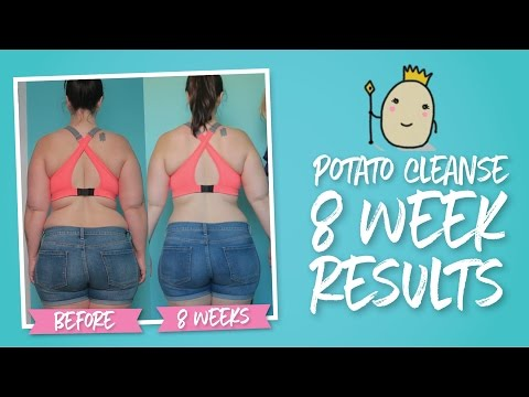 What 8 Weeks of Potatoes Did for My Body |  Potato Cleanse Weight Loss Results