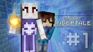 getlinkyoutube.com-Minecraft Undertale ► TORIEL THE CARETAKER! #1 (Minecraft Undertale Roleplay)