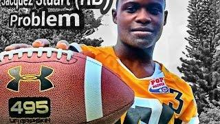 getlinkyoutube.com-Football Highlights Jacquez Stuart RB 2019 highlights