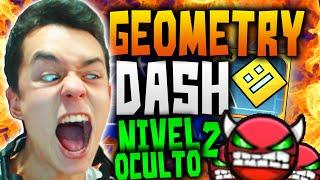 getlinkyoutube.com-Geometry Dash! EL NUEVO NIVEL OCULTO!  EL MÁS DIFÍCIL DEL JUEGO!! #19 - TheGrefg
