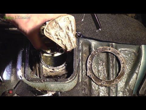 Ремонт бензонасоса ВАЗ 2110, 2112 инжектор. ГЕРМЕТИК, или всё плохо, и как не надо делать.
