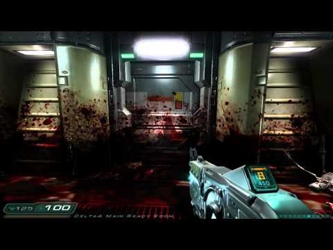 DOOM 3 Delta Labs Sector 4 Hell Knight Sikkmod HD 1920x1080