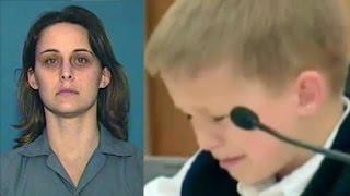 getlinkyoutube.com-امرأة قتلت ابنتها من أجل مطهر الزجاج والشاهد هو ابنها البالغ من العمر 7 أعوام !!