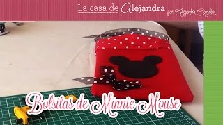 getlinkyoutube.com-Bolsitas de Minnie Mouse