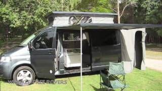 getlinkyoutube.com-VW T5 Transporter Campervan