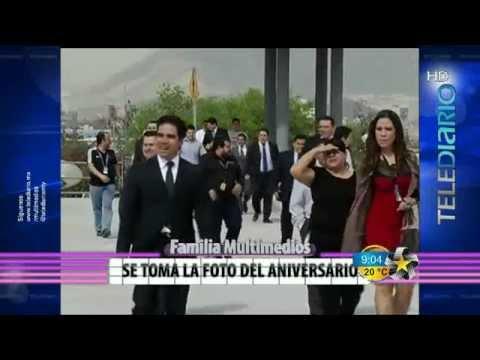 Aniversario 45 de Multimedios Televisión - Fotografía Grupal