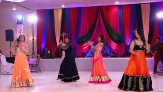 getlinkyoutube.com-Best Sangeet Performance 2014 - Tofiq & Reeta