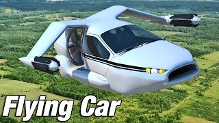 getlinkyoutube.com-► Flying Car - Terrafugia TF-X introduction