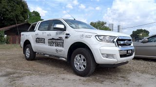 2015 Ford Ranger 2.2 4X4 XLT (High Rider, Double Cab) Start-Up and Full Vehicle Tour
