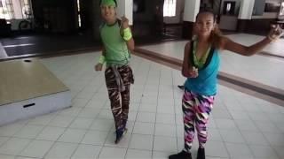 Dahil sayo dance move.