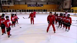 getlinkyoutube.com-NHL Skills: Stops From Canadian Tire Hockey School