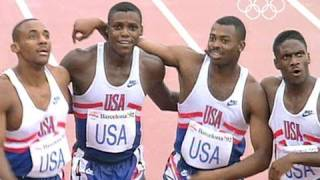 getlinkyoutube.com-Carl Lewis & friends: The fantastic four in Barcelona 1992