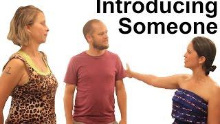getlinkyoutube.com-How to Introduce Someone - American English
