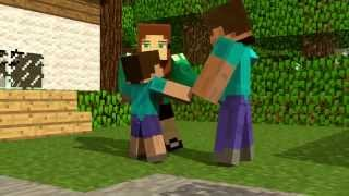 getlinkyoutube.com-Historia do Herobrine Minecraft animação