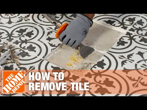 Video about how to remove a tile
