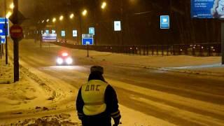 getlinkyoutube.com-Рублёвское шоссе. Ежевечерняя рукотворная пробка.