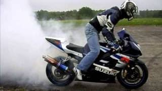 IMPRESIONANTE!! lo mejor de las motos de jerez por la noche [HD] Burnout + drift + exhaust + crash