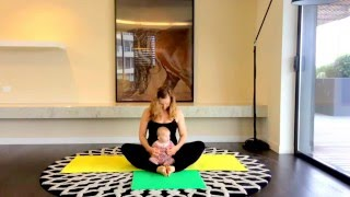 getlinkyoutube.com-Yoga class mother and baby