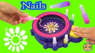 getlinkyoutube.com-Fail - Make Your Own Custom Nails with Glitter Nail Swirl Art Kit Maker  - Cookieswirlc Video