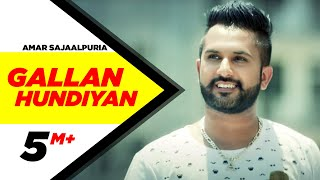 getlinkyoutube.com-Gallan Hundiyan | Amar Sajaalpuria Feat Dj Flow | Full Music Video | Speed Records