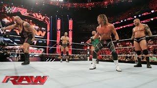 getlinkyoutube.com-Orton, Ryback, Cesaro & Ziggler vs. Sheamus, Big Show, Owens & Rusev: Raw, Aug. 24 , 2015