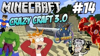 getlinkyoutube.com-Crazy Craft 3.0 #14 - Lo SquidZooka!
