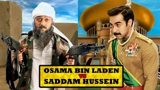 getlinkyoutube.com-Osama bin Laden vs Saddam Hussein Rap Battle ft Riteish Deshmukh & Pulkit Samrat