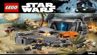 getlinkyoutube.com-Лего Звездные Войны БИТВА НА СКАРИФЕ 75171