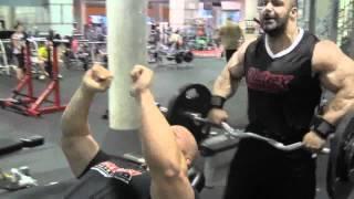 getlinkyoutube.com-Ben Pakuski, Zack Khan, Aaron Singerman Tricep Workout