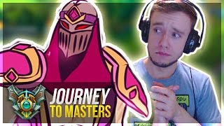 PINK ZED STYLIN' ON FOOLS | INVIS CAMILLE GLITCH WTF - Journey To Masters #30 S7 - League of Legends