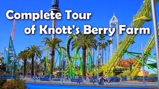 getlinkyoutube.com-[HD] Complete Tour of Knott's Berry Farm - America's 1st Theme Park