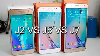 Samsung Galaxy J2 VS J5 VS J7 Comparison- Which Is Better And Why?