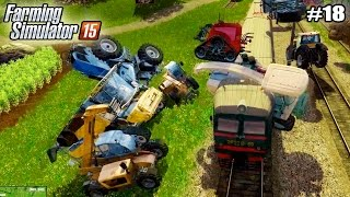 getlinkyoutube.com-Farming Simulator 15 моды: CHEVROLET C-10 и КОМБАЙН НИВА  (18 серия) (1080р)