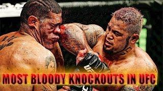 MOST BLOODY UFC KNOCKOUTS COMPILATION #75 BELLATOR MMA 2017  САМЫЕ ЖЕСТОКИЕ НОКАУТЫ