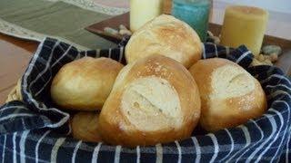 getlinkyoutube.com-No-Knead Artisan Dinner Rolls (Four Ingredients... No Mixer... No Yeast Proofing)
