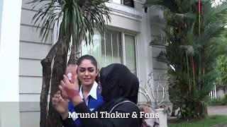 MRUNAL THAKUR & FANS