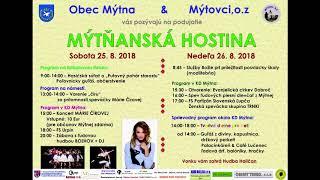 Uputavka Mytna 2018