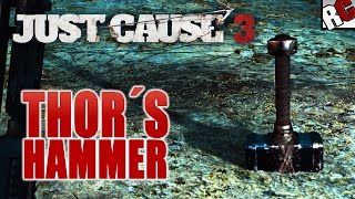 getlinkyoutube.com-Just Cause 3 EASTER EGG - Thor's Hammer Location (Best Easter Eggs in Just Cause 3)
