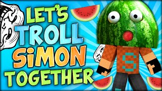 getlinkyoutube.com-LET'S TROLL SIMON TOGETHER (Minecraft)