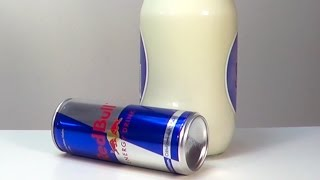 getlinkyoutube.com-Red Bull and Milk Experiment