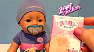 getlinkyoutube.com-Zapf Creations Baby Born Boy Doll Unboxing