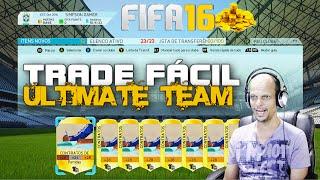 FIFA 16 , Ultimate Team, TRADE PARA INICIANTE , COM CONTRATOS.