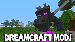 getlinkyoutube.com-Minecraft Xbox MODS - DreamCraft World - Showcase!