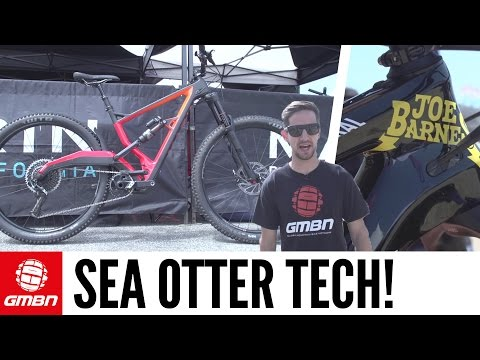 New Mountain Bike Tech For 2017 | GMBN At Sea Otter
