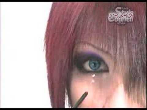 visual makeup. visual kei makeup tutorial.