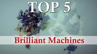getlinkyoutube.com-Besiege - Top 5 Brilliant Machines