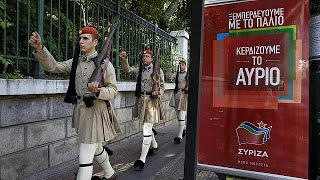 انتخابات زودهنگام یونان قمار سیپراس برای باقی ماندن در قدرت